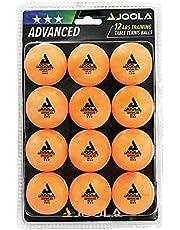 JOOLA Bolas de tênis de mesa 3 Star Training pacote com 12, 60 ou 120 – Bolas de pingue-pongue de 40 mm para competição e brincadeiras recreativas