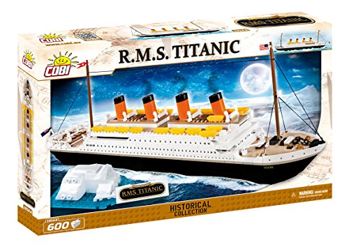 COBI Rms Titanic Building Kit (600 Piece)