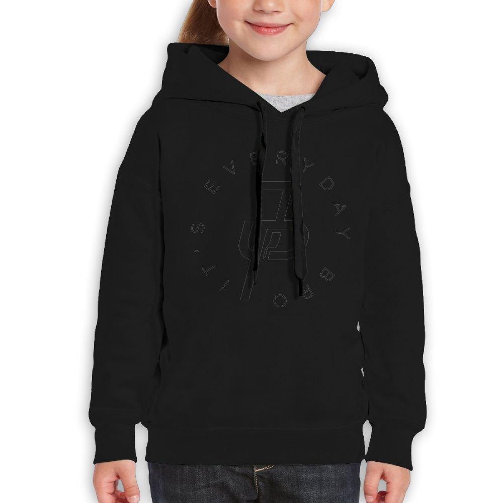 Addie E. Neff Pullover Team 10 Ten Jake Paul It's Every Day Boys,Girls,Youth Popular Sweatshirt Pocket Hoodie S Black