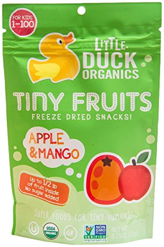 Little Duck Organics Tiny Fruits - Apple & Mango - 0.75 oz
