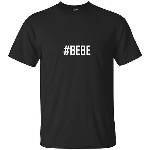 Amazon.com: CHIKYSHIRT #Bebe Hashtag - A Soft & Comfortable ...