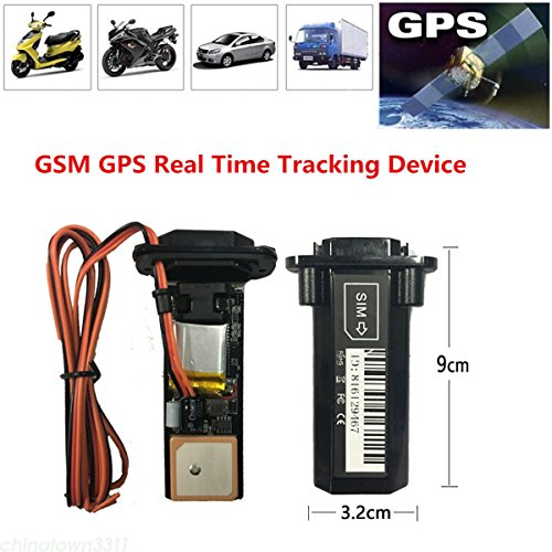Universal Waterproof Mini Builtin Battery GSM GPS Tracker For Car SUV Motorcycle