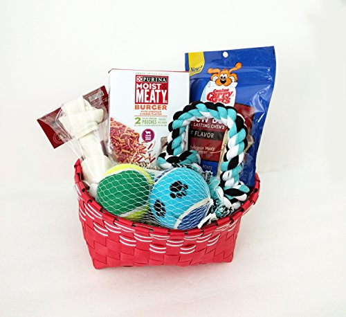 best-dog-care-gift-basket-package-box