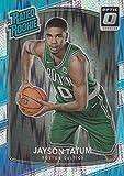 #6: 2017-18 Donruss Optic Flash Prizm #198 Jayson Tatum Boston Celtics Rated Rookie Basketball Card