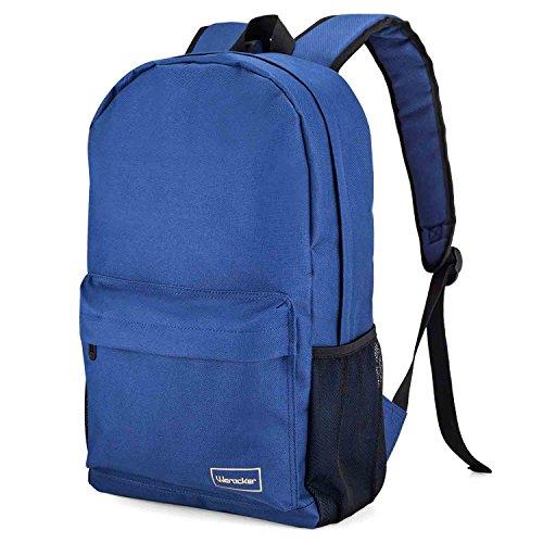 werocker-backpack-shoulder-bag-for-school-travel-water-resistance-blue