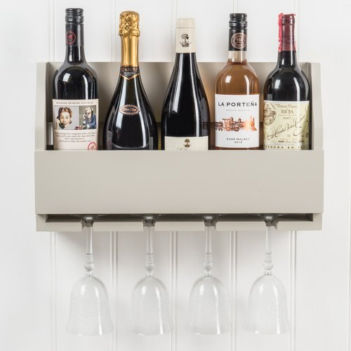 Winston Porter Christopherso 5 Bottle Wall Mounted Wine Rack from Unknown