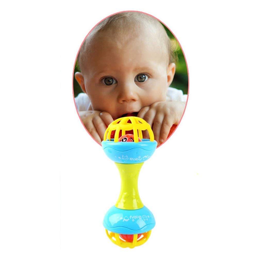 12 mois Jouet pour shaker /à main pour b/éb/é Jouets /éducatifs pr/écoces pour b/éb/é pour b/éb/és de 3 sant/é du nouveau-n/é pour b/&eac Ogquaton Qualit/é Premium Baby Hochets 6 9