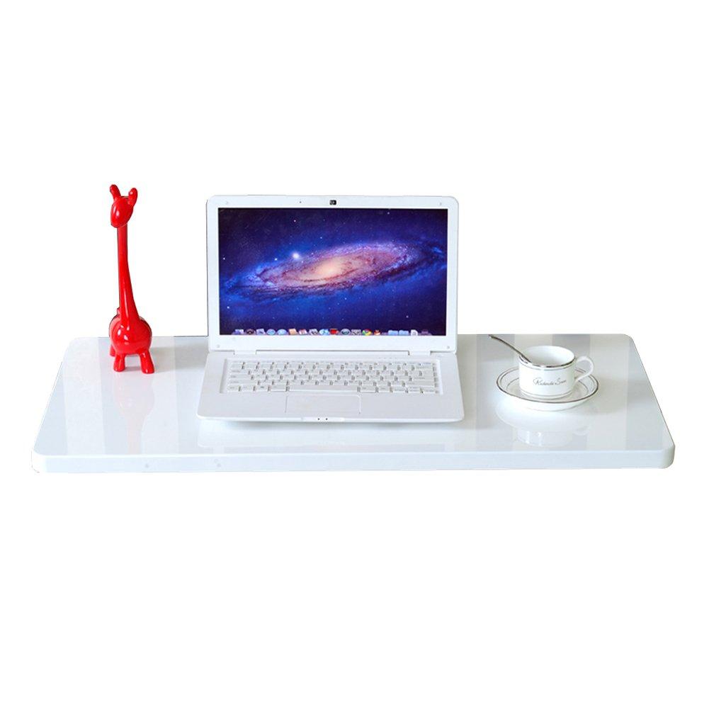 LXLA壁掛けコンピュータテーブル折りたたみ式壁掛け式机リビングルーム研究用ワークステーションキッチンDindingオーガナイザ、ベッドルーム、白 (サイズ さいず : 120×30cm) B07DYR5B2J 120×30cm 120×30cm