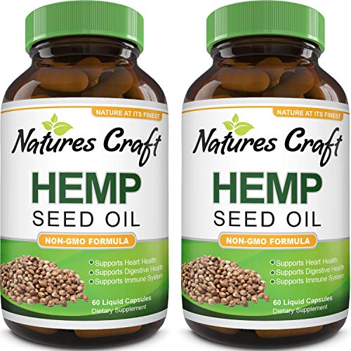 Hemp-Oil-Capsules-1000mg–Immune-Support-Pure-Organic-Hemp-Oil-for-Pain-Relief-Sleep-Aid-Energy-and-Mood–Omega-3-6-9-Hemp-Seed-Oil-for-Hair-Skin-and-Nails-Vitamins-and-Joint-Supplements-for-Men