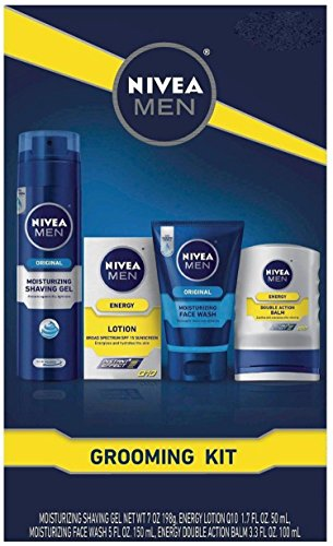 Nivea Men Gift Set includes Balm, Shave Gel, Face Wash, Lotion