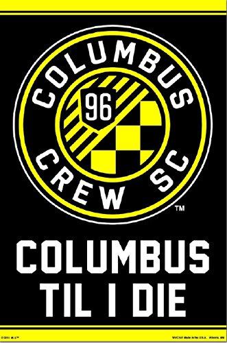 Columbus Crew SC | Official Team Crest Poster (Team Crest Poster)