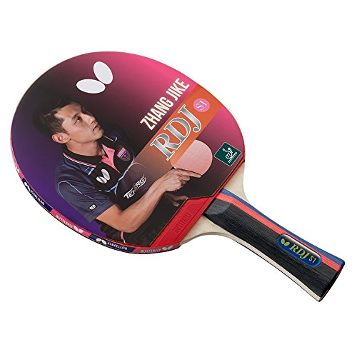 Butterfly RDJ S1 Table Tennis Racket – ITTF Approved Ping Pong Paddle – Great Spin, Speed, and Control Table Tennis Paddle by Butterfly