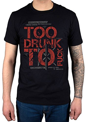 Official Dead Kennedys Too Drunk T-Shirt]()