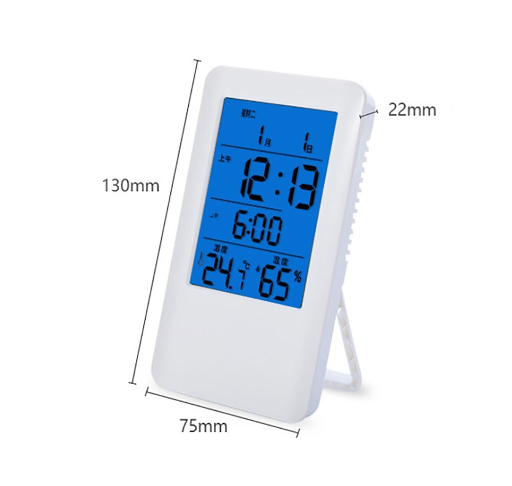 RUIX Thermo-Hygrometer Electronic Home Precision Baby Room Indoor Wall-Mounted