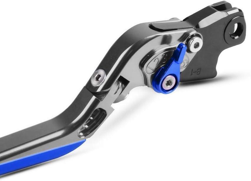 F800GT F800R Einstellbar Bremskupplungshebel CNC Aluminium F/ür F800GT 2013-2016 F800R 2009-2016-Titan+Titan+Blau+Blau