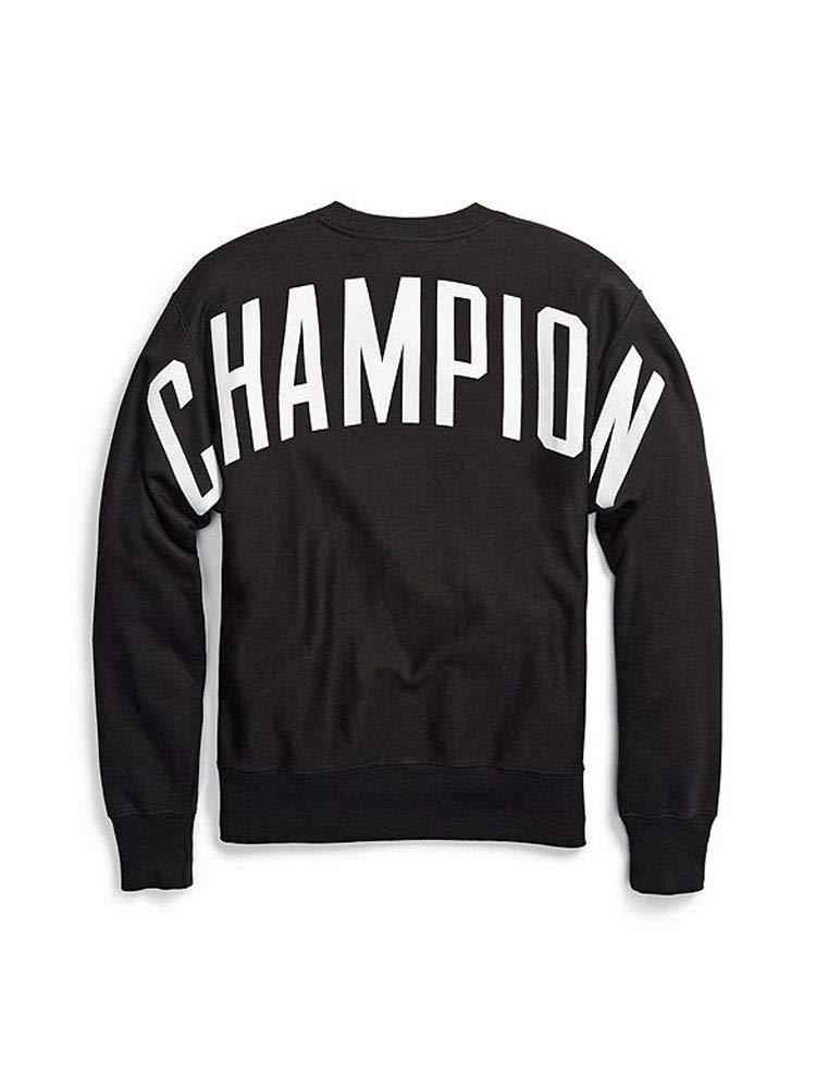 Champion LIFE Men's Reverse Weave Sweatshirt, Black, Medium