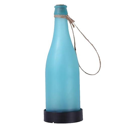 gazechimp diseño de botella lámpara de mesa jardín decoración ...