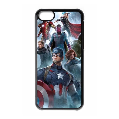 Avengers Age Of Ultron HG56BB2 cas d'coque iPhone de téléphone cellulaire 5c coque S0SJ7U8YZ