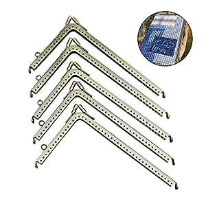 Amazon.com: GuoFa - 5 marcos para monedas, con forma de L de ...
