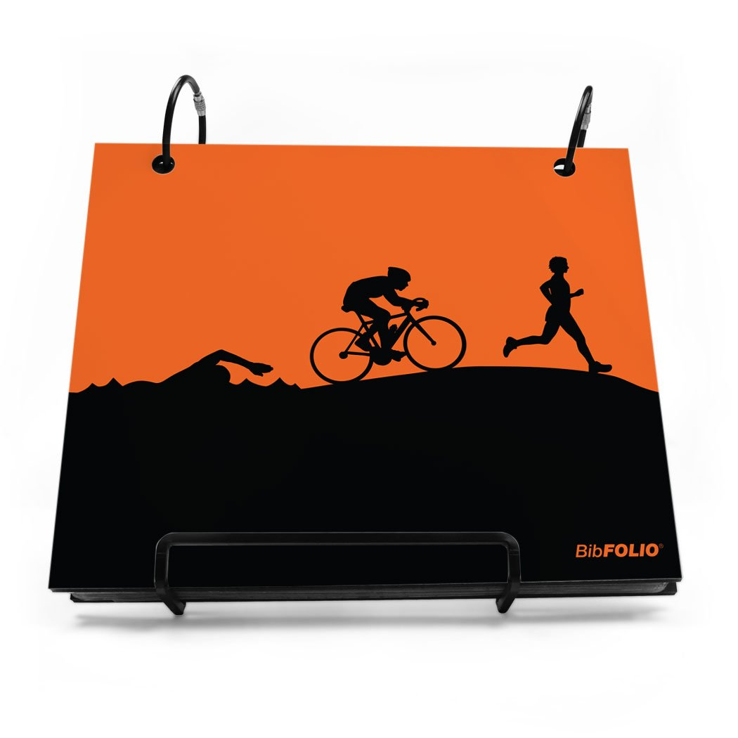 Triathlon BibFOLIO (Race Bib Holder and Album)
