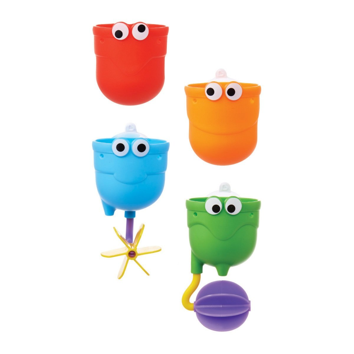 Munchkin Falls Bath Toy with Suction Cups, Multi-Coloured 012311WWW