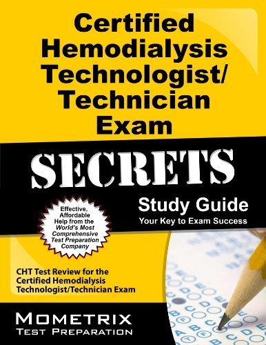 Certified Hemodialysis Technologist/Technician Exam Secrets Study Guide: CHT Test Review for the Certified Hemodialysis Technologist/Technician Exam 1 Pap/Psc Edition by CHT Exam Secrets Test Prep Team (2013) Paperback