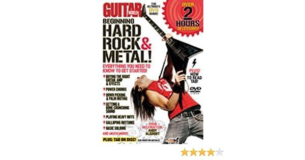 Guitar World -- Beginning Hard Rock & Metal!: Everything You Need ...