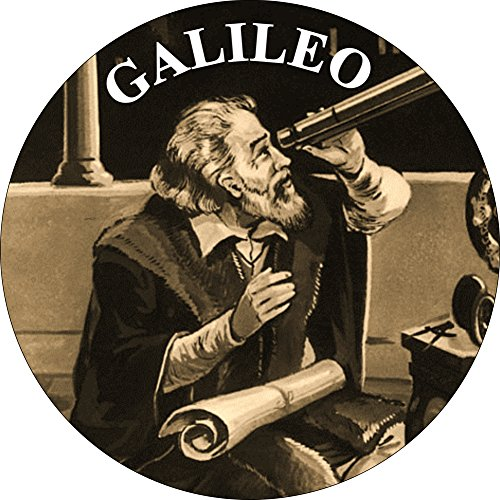 Galileo - Looking Through Telescope - 1.5