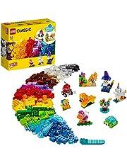 LEGO 11013 Classic Creatieve Transparente Bouwstenen Bouwset met Dieren voor Kleuters 4