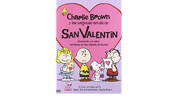 Amazon.com: A Charlie Brown Valentine - Charlie Brown Y Las ...