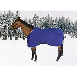 TuffRider Cooler Sheet Deep Wisteria - Anti-Pilling Fleece, Single Front Clozease Closure - 63