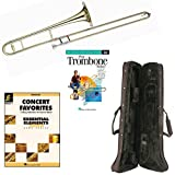 Play Trombone Today Deluxe Pack - Includes Bb Tenor Trombone, Self-Teaching Method DVD & Essential Elements Concert Favorites