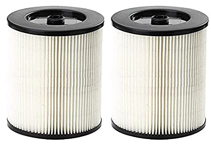 .com: 2 x shop vac filter fits in place of craftsman 17816, 9 ...