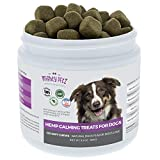 Calming Treats for Dogs – Natural Separation Anxiety Relief. Anti-Stress Hemp Oil Chews Pups Love! Behavior Support to Promote Relaxation, Composure and Aid Chewing, Barking and Storms. 120 Bites