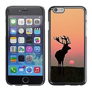 SKCASE Center / Funda Carcasa - Verano Antlers caza ciervos;;;;;;;; - Apple Iphone 6 Plus 5.5