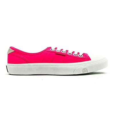 Superdry Niedrig Pro Damen Sneaker Pink    Amazon   Schuhe & Handtaschen 7e70ff