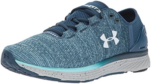 Under Armour Women's Charged Bandit 3 Running Shoe True Ink (918)/Blue Infinity 8.5