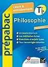 Prépabac Cours & entraînement Philosophie Tle L, ES, S par Ghrenassia
