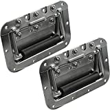 Seismic Audio - SAHDL102-2Pack - Pair of Spring Loaded Speaker Handles for PA Speakers, Rack Cases, or Pedal Board Cases - Pro Audio