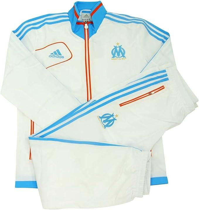 adidas Olympique de Marsella – Chándal Hombre w38034, Blanco ...