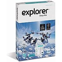 EXPLORER - Papel blanco multiusos para impresora - A4 75gr - 1 paquete - 500 folios