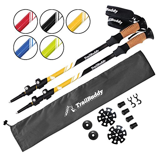 TrailBuddy Trekking Poles Adjustable Lightweight product image