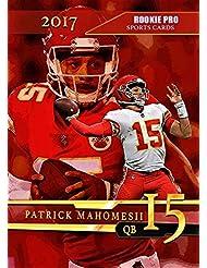 2017 PATRICK MAHOMES Rookie Football Card - Rookie Pro Custom Kansas City Chiefs