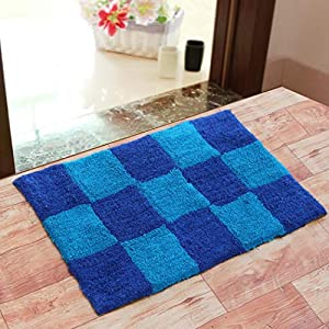 Modern Fab Pure Cotton Super Soft Anti Skid Water Obsorbing Bath Mat – 50 cm x 80 cm, Multi Color