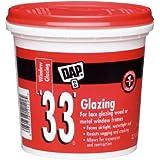 Dap 12121 33 Glazing Compound, 1-Pint, White