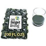 On Target Living Wheatgrass Juice - 200 Fl Ozs - $1.65 Per Oz - 100% Wheatgrass Juice - Field Grown - Flash Frozen - Unpasteurized - 400 x 0.5 Fl Oz Portions