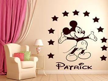 Vinilos Mickey Mouse Para Pared.Personalizado De Mickey Mouse Vinilo Adhesivo Decorativo