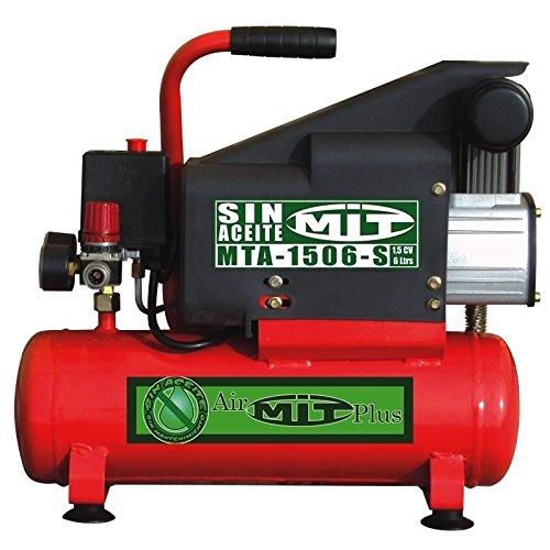 Compresor de aire MITO -1506-S. Sin aceite. 1,5HP 6 litros: Amazon.es: Bricolaje y herramientas