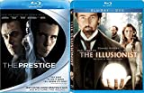 Nothing is What it Seems Magic Double Feature The Illusionist & Prestige Blu Ray Period Set