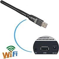 Clé USB WiFi, Wechip Adaptateurs USB Wifi Dual Bande 2.4G 150Mbps USB 2.0 Wifi Wireless Adaptateur Avec 2dBi Antenne, compatible avec Win 10/8/7/XP/Vista/2000/Mac Os X 10.4-10.12.1